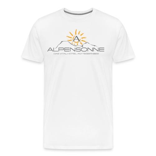 Hotel Alpensonne Tegernsee - Männer Premium T-Shirt