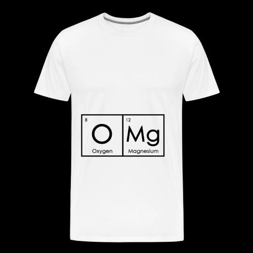 OMG! Unglaubliches Design - Männer Premium T-Shirt