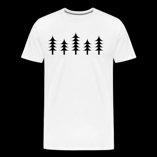 Skog - Premium T-skjorte for menn