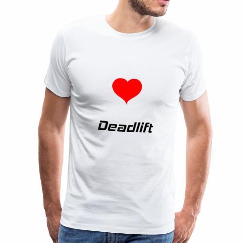 Deadlift Bodybuilding Powerlifting Lifting Gym - Männer Premium T-Shirt