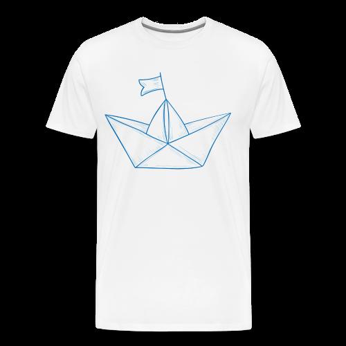 Papierboot #1 - Männer Premium T-Shirt