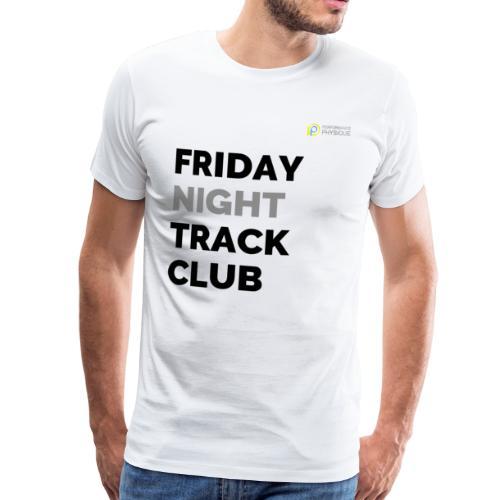 Friday Night Track Club - Grey - Men's Premium T-Shirt
