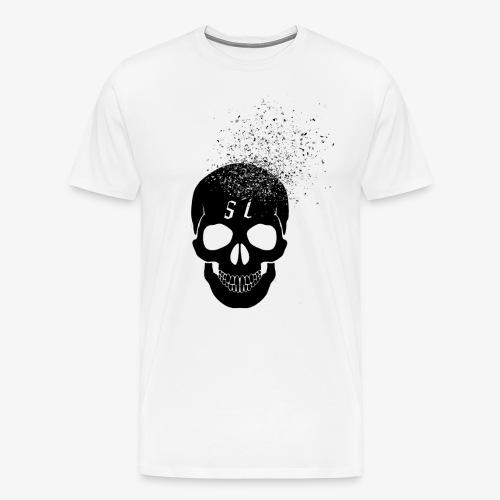 Skull esplosione - Maglietta Premium da uomo