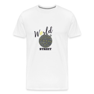 World is Street - T-shirt Premium Homme