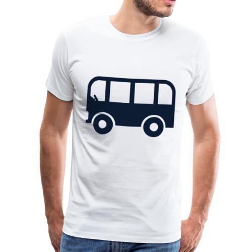 Buss - Premium T-skjorte for menn