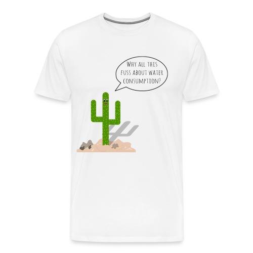 WaterComsumption - Premium-T-shirt herr