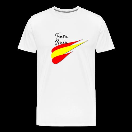 Spanish Football Men Woman Fan T-Shirt TEAM SPAIN - Männer Premium T-Shirt