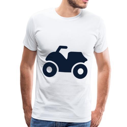 ATV - Premium T-skjorte for menn