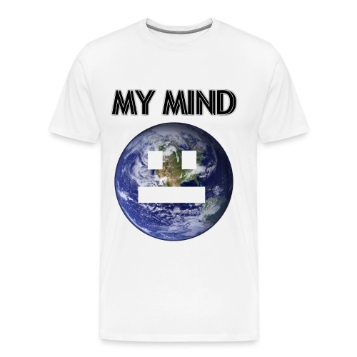 MY MIND - Premium-T-shirt herr