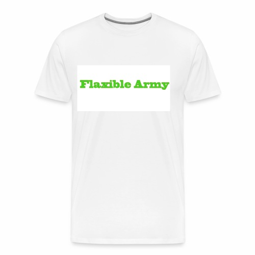 ,,Flaxible Army'' Kollektion - Männer Premium T-Shirt