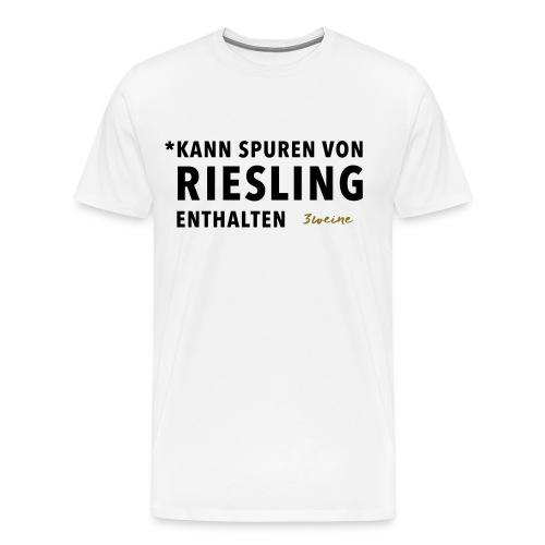 Rieslingliebhaber - Männer Premium T-Shirt