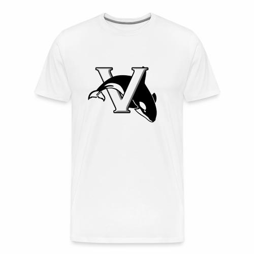 Men's Växjö Killer Whales Logo - Premium-T-shirt herr