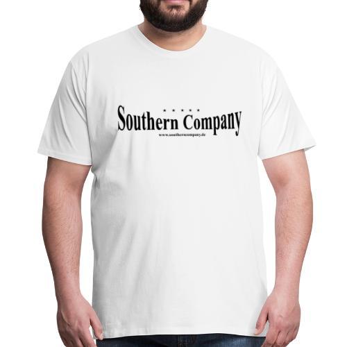 Southern Company Logo Schwarz - Männer Premium T-Shirt