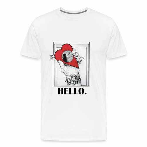 Lonely Heart - T-shirt Premium Homme