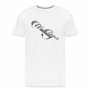 Logo fly - Premium T-skjorte for menn