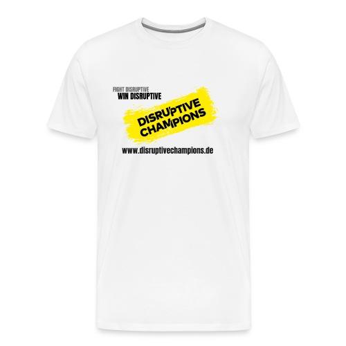 Disruptive Champions - Männer Premium T-Shirt