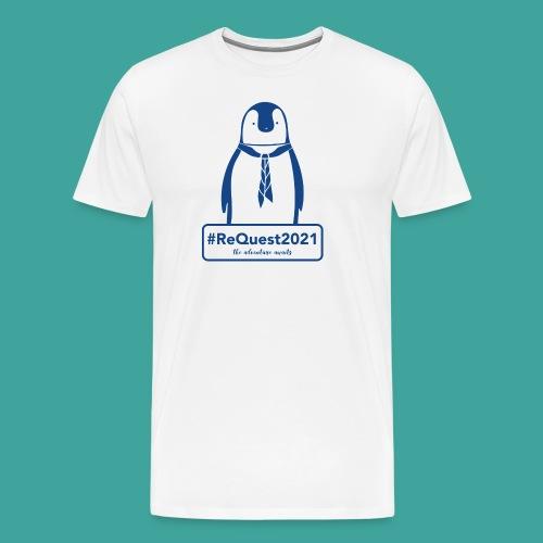 Kent Scouts #ReQuest2021 Antarctica Expedition - Men's Premium T-Shirt