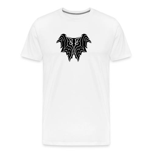 Insane Reactionz Logo Schwarz - Männer Premium T-Shirt