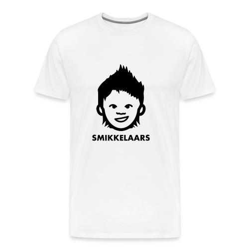 Button met logo - Mannen Premium T-shirt