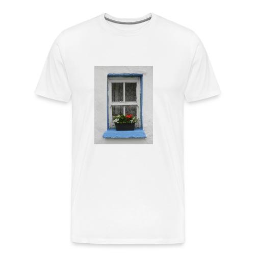 Cashed Cottage Window - Men's Premium T-Shirt