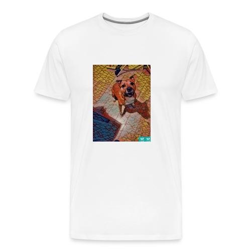 Foxy in kleur - Mannen Premium T-shirt