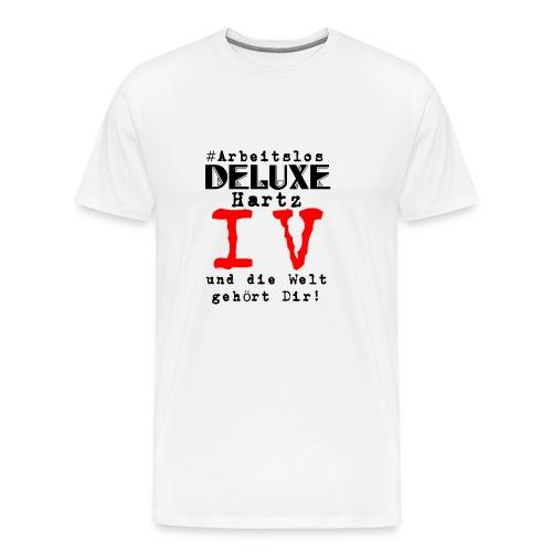 arbeitslosdeluxe - Männer Premium T-Shirt