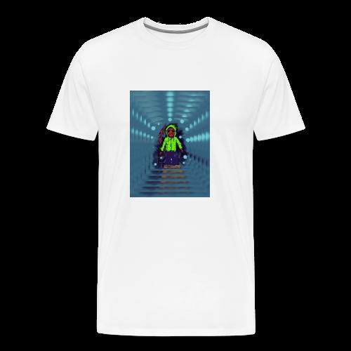 Warrior of light - Camiseta premium hombre
