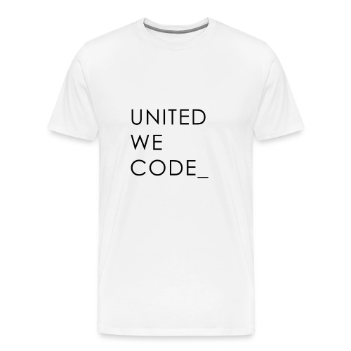 United We Code - T-shirt Premium Homme