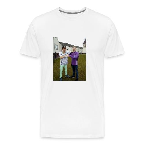 Dominik. Justin. Coll - Männer Premium T-Shirt