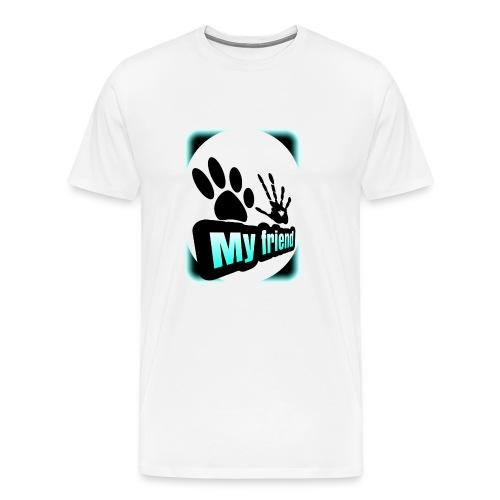 friend dog-err - Camiseta premium hombre