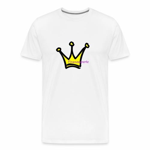 Finanzexperte - Männer Premium T-Shirt