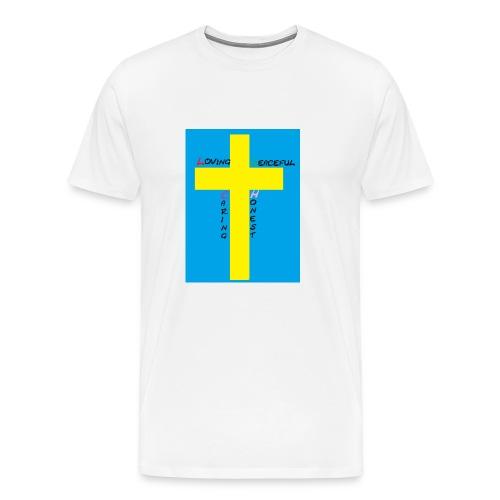 L.P.C.H - Premium-T-shirt herr