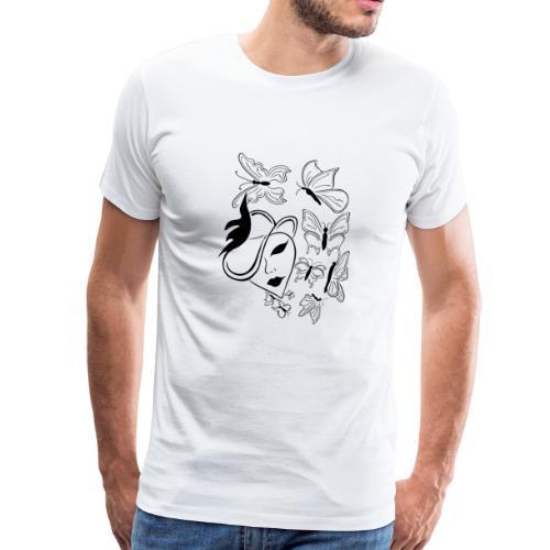 Das Sprechende Herz - Männer Premium T-Shirt