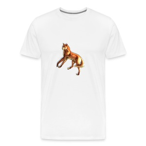 Fox of the night - Men's Premium T-Shirt