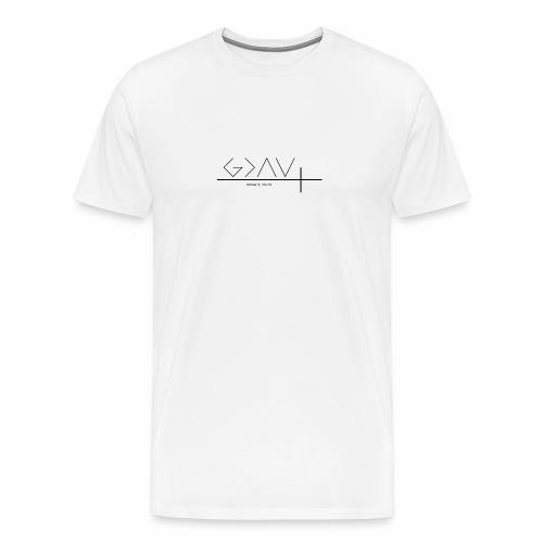 God is greater - Männer Premium T-Shirt