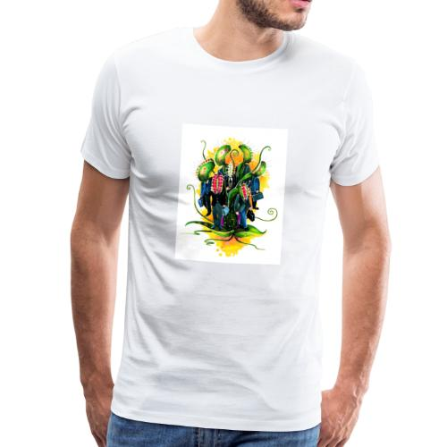 plant workers - Men's Premium T-Shirt