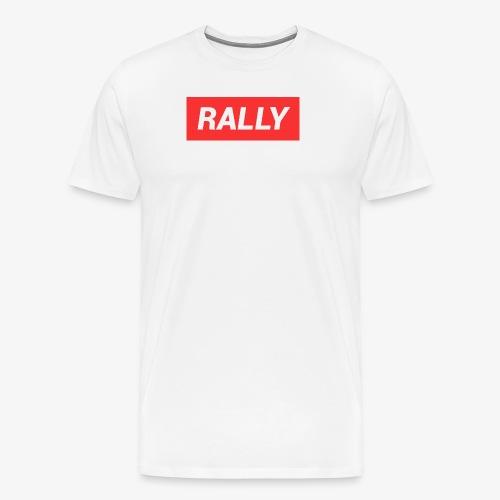 Rally classic red - Premium-T-shirt herr