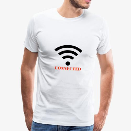 CONNECTED - Premium-T-shirt herr