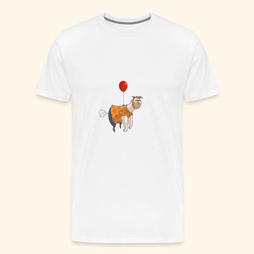Ballon man - Mannen Premium T-shirt