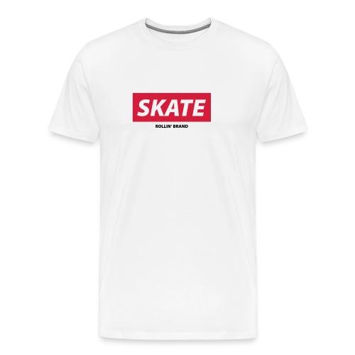 SKATE Boxed Logo - Männer Premium T-Shirt