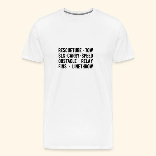 Tee shirt RESCUE ... THROW - T-shirt Premium Homme