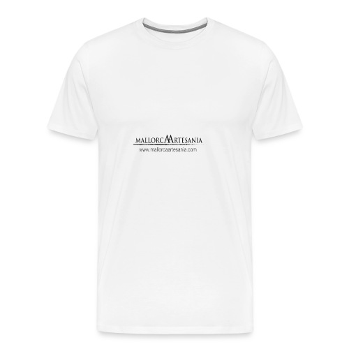 Mallorca Artesania con url - Camiseta premium hombre