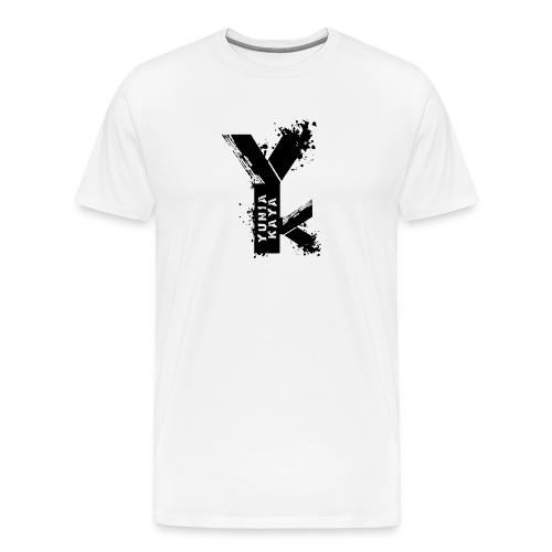 Yunia Kaya Schwarz Weiss - Männer Premium T-Shirt