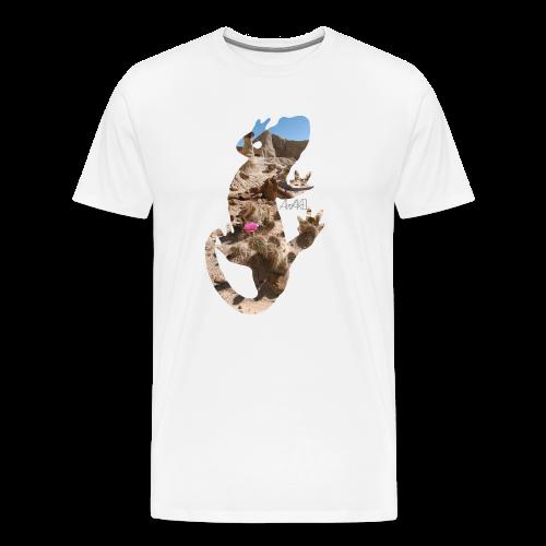 AWAKE! Lizard - Männer Premium T-Shirt