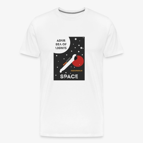 #ADURSOL18 Space Theme - Men's Premium T-Shirt