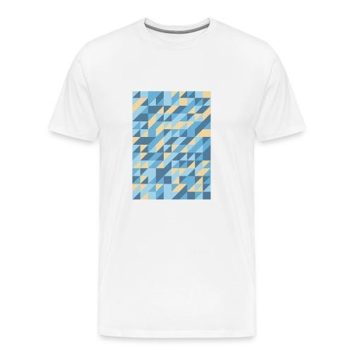 Triangle Design - Maglietta Premium da uomo
