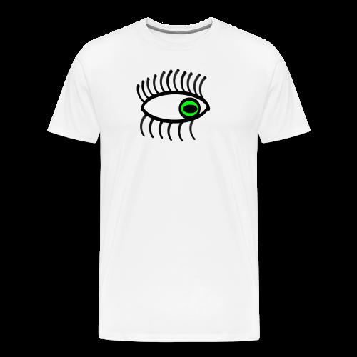 œil vert - T-shirt Premium Homme