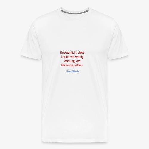 20180106 150838 - Männer Premium T-Shirt