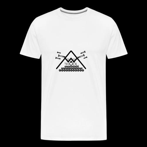 HODL Bitcoin Cryptocurrency trading Cryptonight - Männer Premium T-Shirt