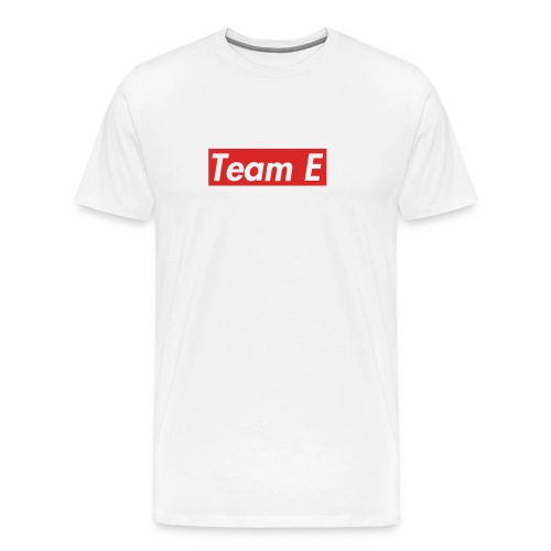 TEAM E - Premium-T-shirt herr
